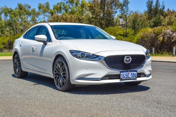 2018 Mazda 6 Touring GL Series White
