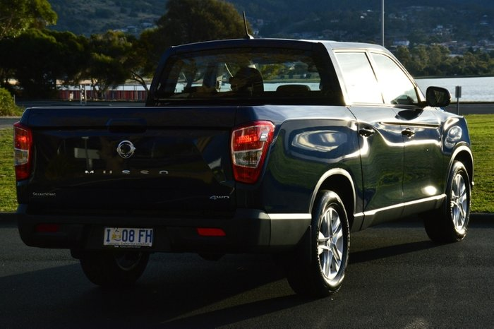 2019 SsangYong Musso Ultimate Q200 4X4 Dual Range atlantic blue