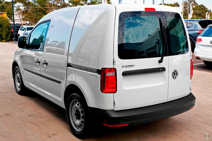 2019 Volkswagen Caddy TSI220 2KN MY19 White