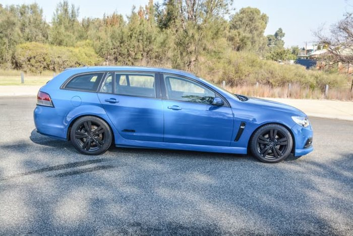 2013 Holden Commodore SS VF MY14 Blue