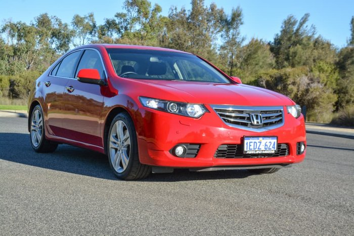 2012 Honda Accord Euro Luxury 8th Gen MY12 Red