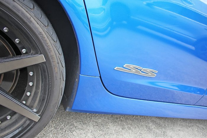 2008 Holden Commodore SS VE MY09 Blue