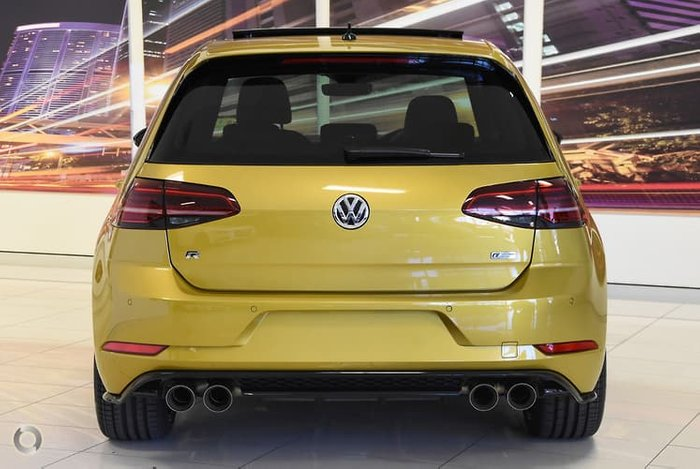 2018 Volkswagen Golf R Special Edition 7.5 MY19 Four Wheel Drive Yellow