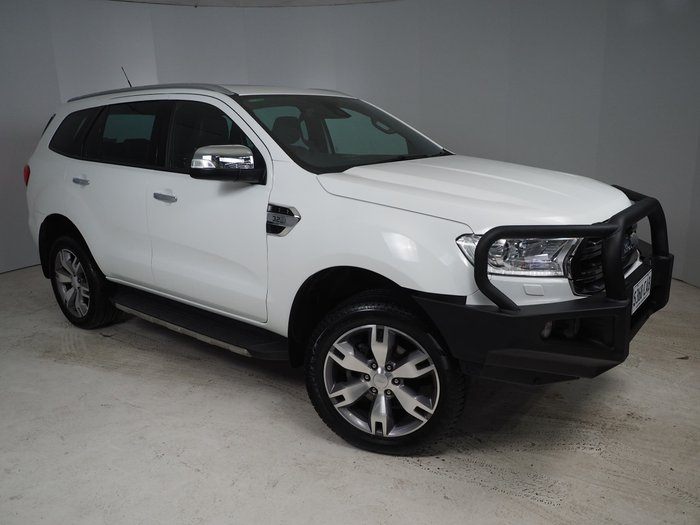 2016 Ford Everest Titanium UA 4X4 Dual Range White