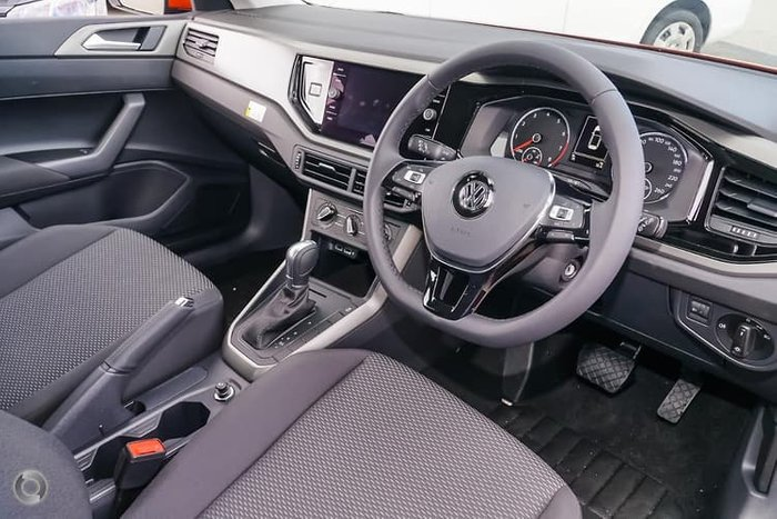 2019 Volkswagen Polo 70TSI Trendline AW MY19 Orange