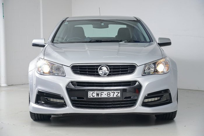 2013 Holden Commodore SV6 VF MY14 Silver