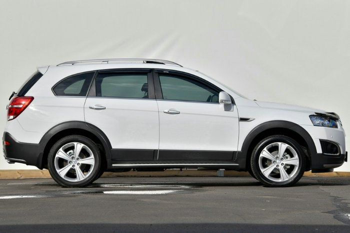 2014 Holden Captiva 7 LTZ CG MY15 4X4 On Demand SUMMIT WHITE