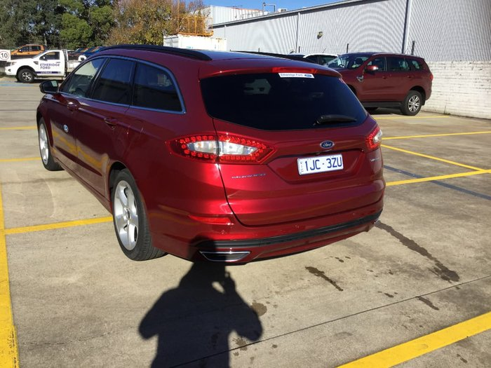 2018 Ford Mondeo Trend MD MY18.25 Red
