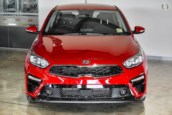 2018 Kia Cerato Sport BD MY19 Red