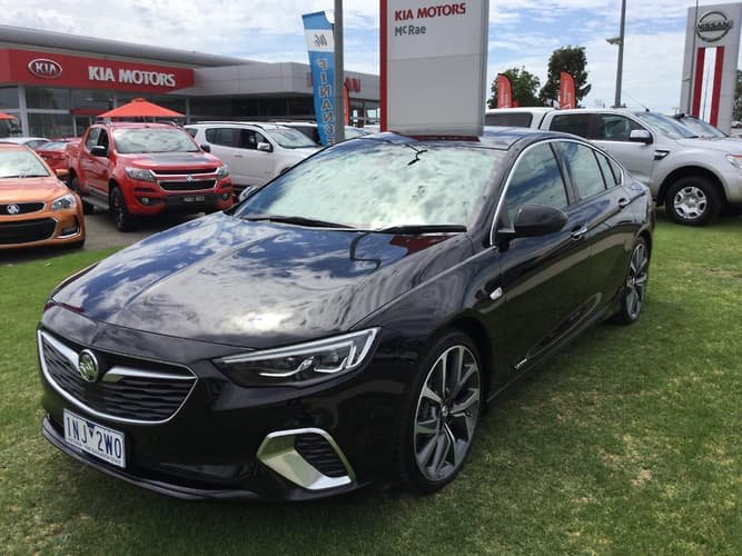 2018 Holden Commodore VXR ZB MY18 4X4 On Demand Black