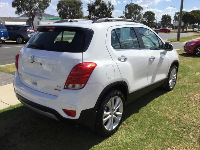 2017 Holden Trax LTZ TJ MY17 White