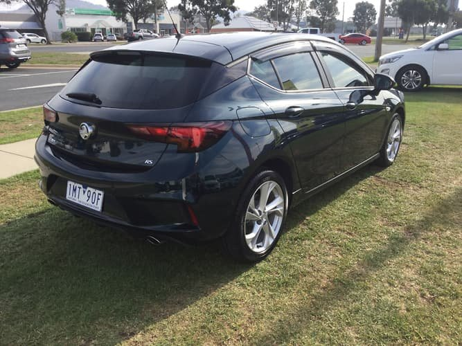 2016 Holden Astra RS BK MY17 Green