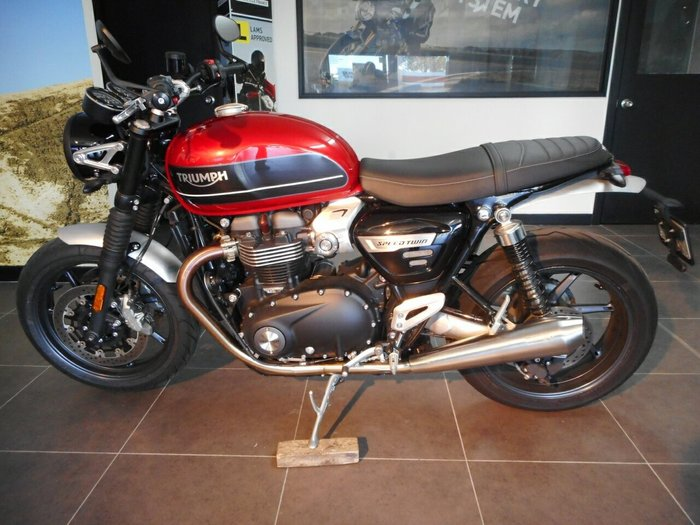 0 Triumph 2019 TRIUMPH 1200CC SPEED TWIN Red