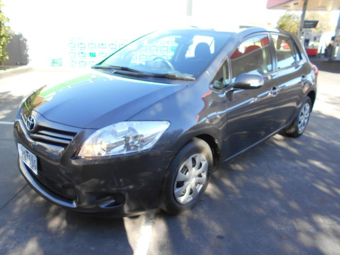 2011 Toyota Corolla Ascent ZRE152R MY11 Grey