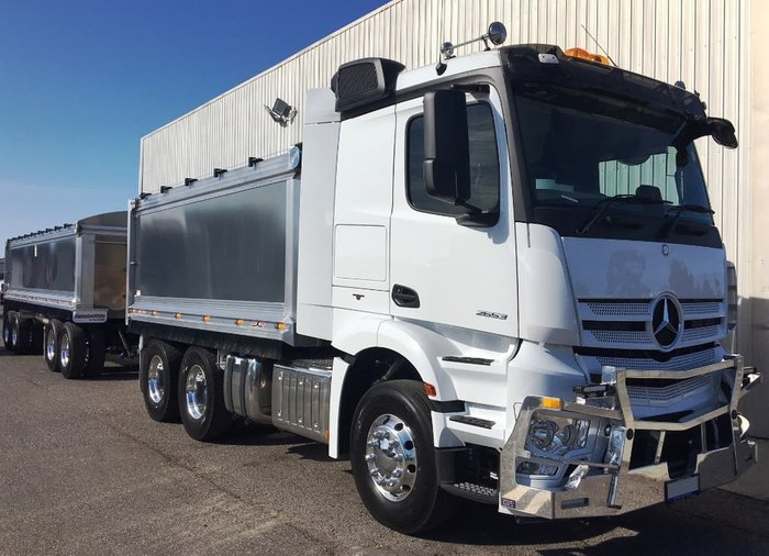 2019 MERCEDES-BENZ ACTROS 2653 TIPPER null null White