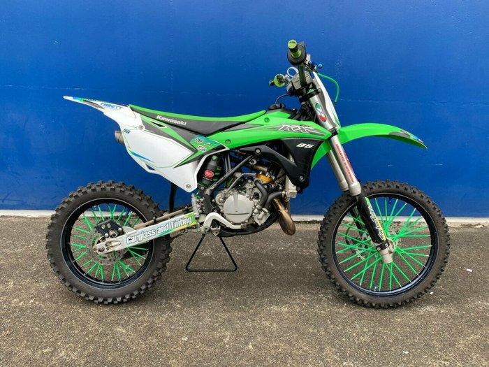 2015 Kawasaki KX85-II GREEN