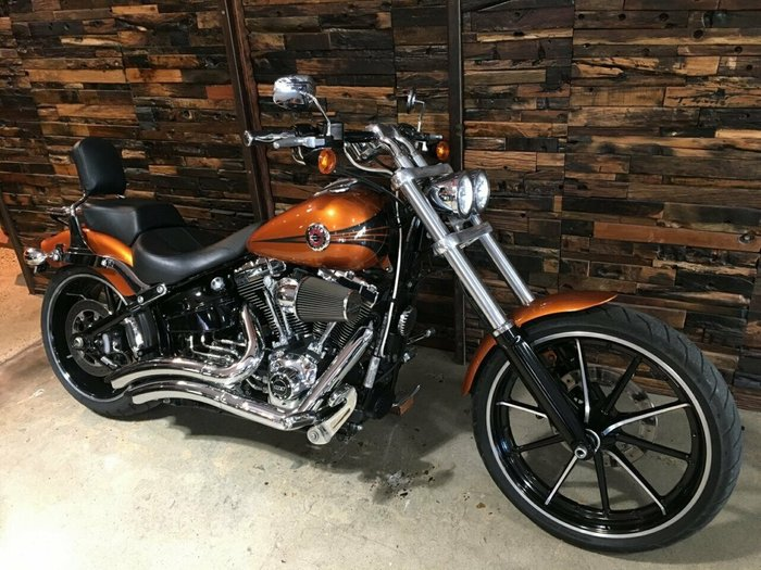2014 Harley-Davidson FXSB SOFTAIL BREAKOUT Amber Whiskey