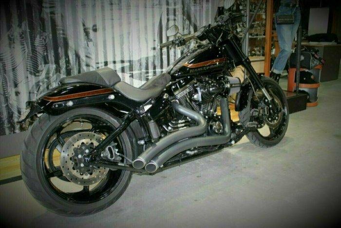 0 Harley-davidson 2017 HARLEY DAVIDSON 1700CC FXSE CVO PRO STREET Black