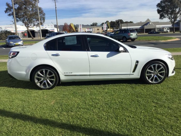 2017 Holden Calais V VF Series II MY17 White