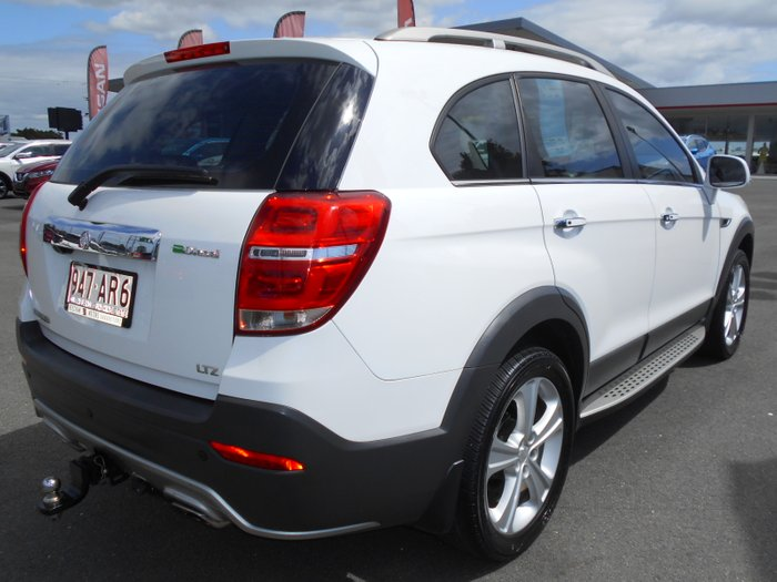2014 Holden Captiva 7 LTZ CG MY14 4X4 On Demand WHITE
