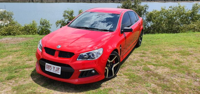 2014 Holden Special Vehicles Clubsport R8 GEN-F MY14 RED