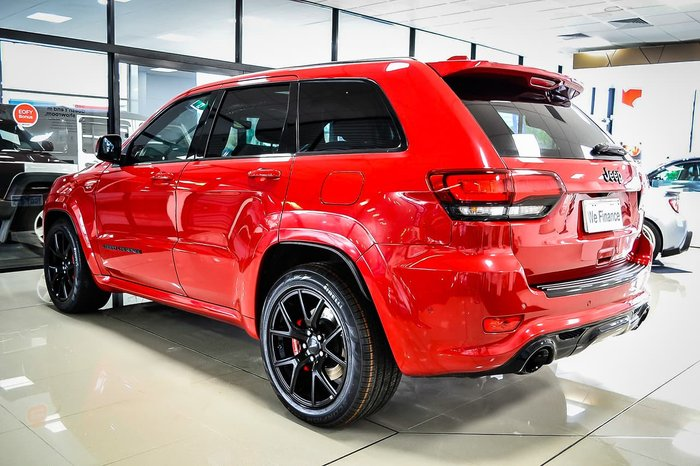 2018 Jeep Grand Cherokee SRT WK MY18 4X4 On Demand Red