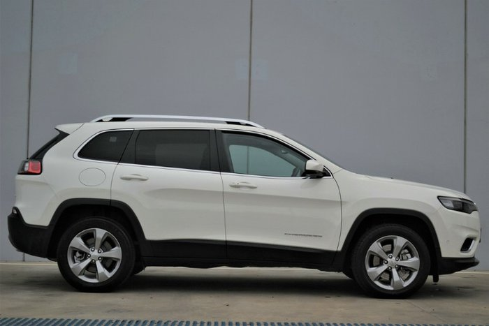 2019 Jeep Cherokee Limited KL MY19 4X4 On Demand PEARL WHITE