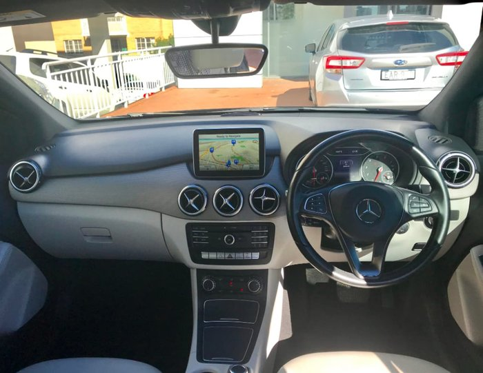 2015 Mercedes-Benz B180 W246 Black