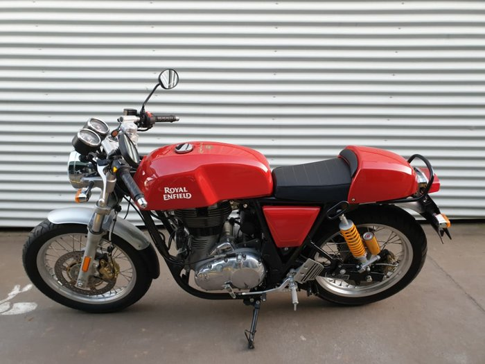 2018 ROYAL ENFIELD CONTINENTAL GT 535 null null Red