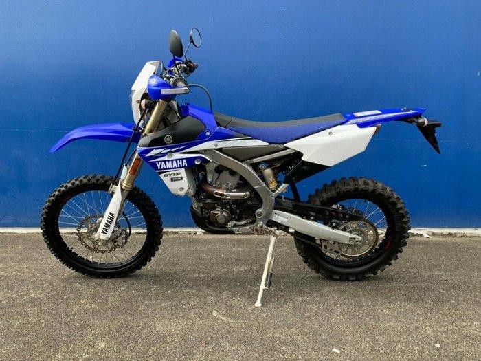2016 Yamaha WR450F BLUE