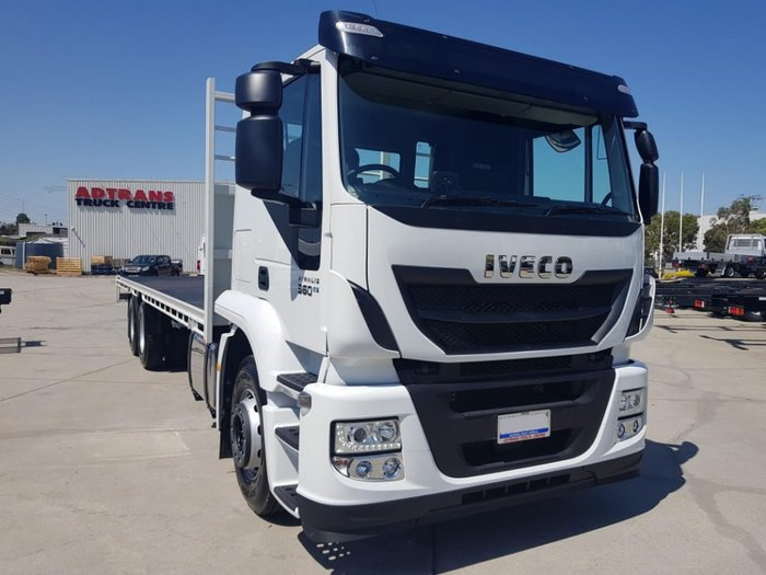 2018 IVECO STRALIS 6X2 ATI 360 TRAY 2018 PLATE CLEARANCE null null White