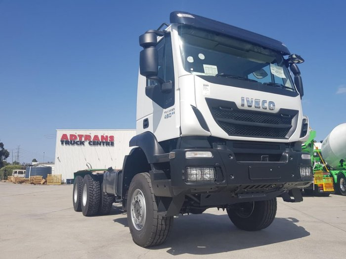 2019 IVECO TRAKKER 6X6 MANUAL - STOCK CLEARANCE - 1 ONLY null null White