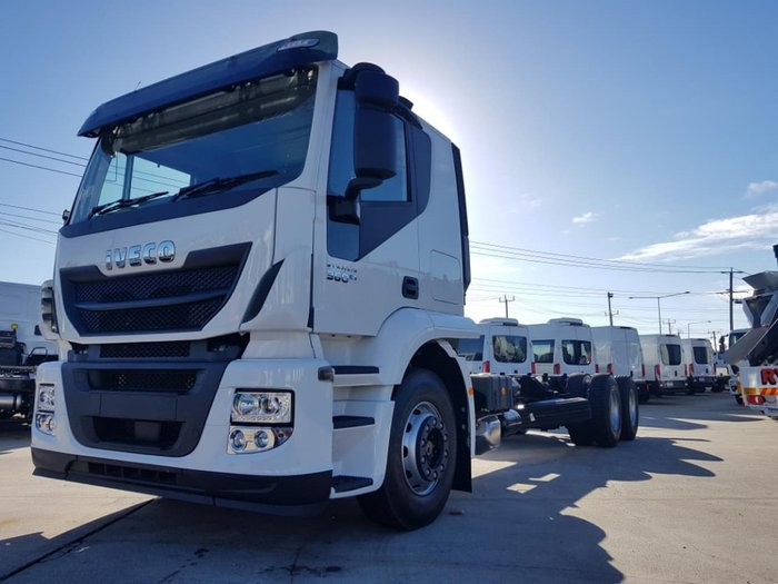 2019 IVECO STRALIS ATI 360 6X2 - 2019 PLATE END OF FINANCIAL YEAR SALE null null White