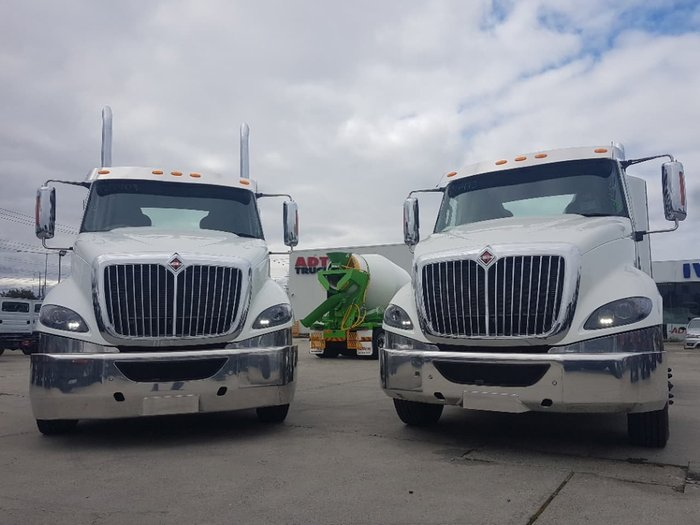 2019 INTERNATIONAL PROSTAR 550HP DAY CAB MANUAL null null white