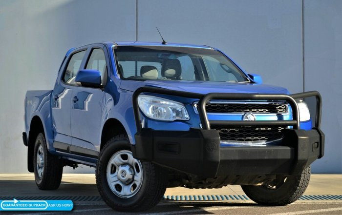 2014 Holden Colorado LX RG MY14 4X4 Dual Range BLUE