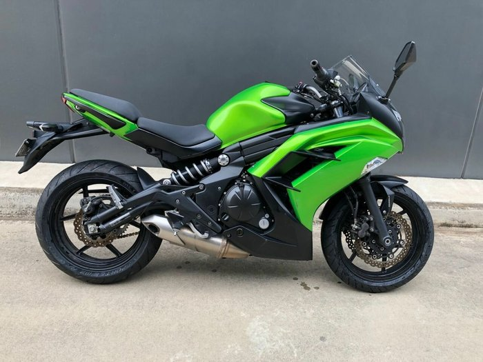 2013 Kawasaki NINJA 650L Green