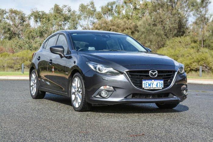 2013 Mazda 3 SP25 GT BM Series Grey