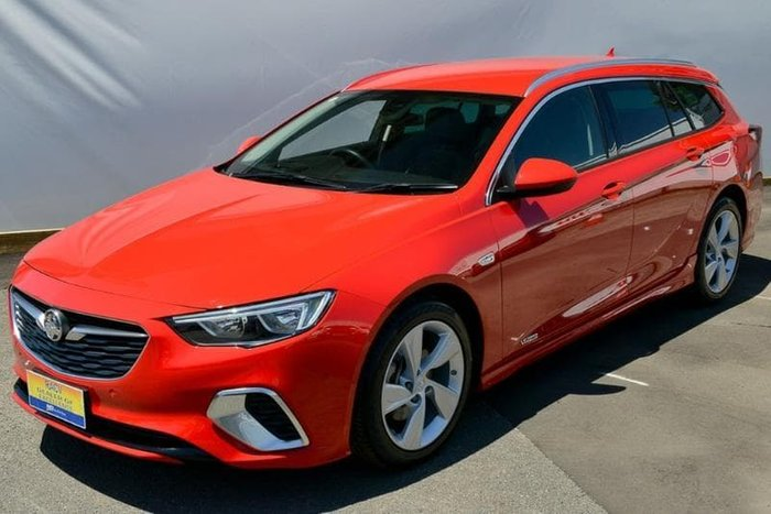 2018 Holden Commodore RS-V ZB MY18 4X4 On Demand Red