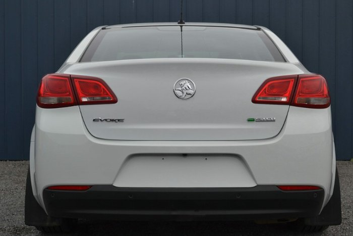 2016 Holden Commodore Evoke VF Series II MY16 HERON WHITE