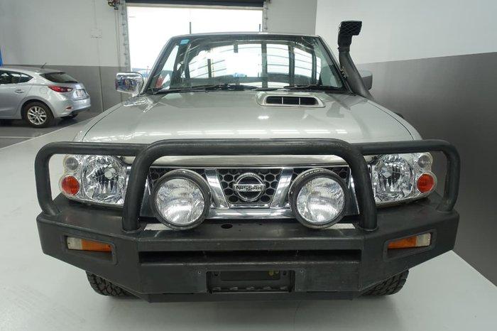 2004 Nissan Navara ST-R D22 MY03 4X4 Silver