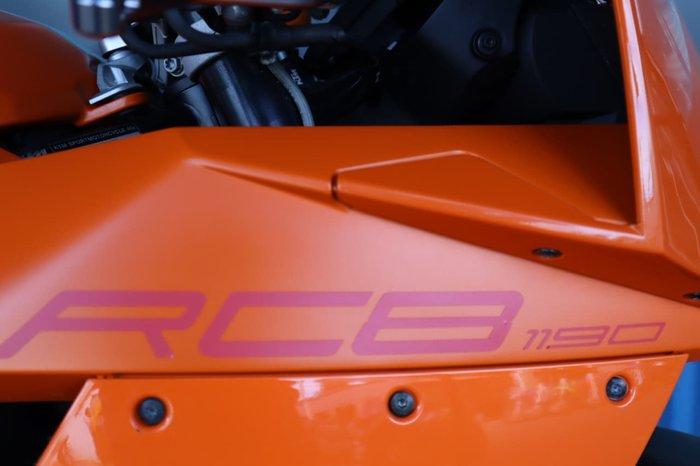 2008 KTM 1190 RC8 null null Orange