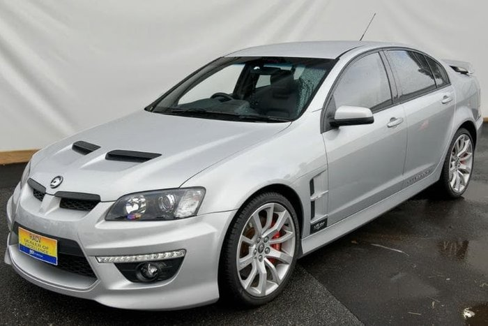 2013 Holden Special Vehicles Clubsport R8 E Series 3 MY12.5 Silver