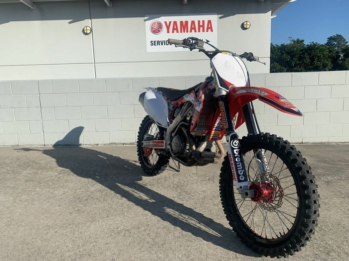 2012 Honda CRF450R Red
