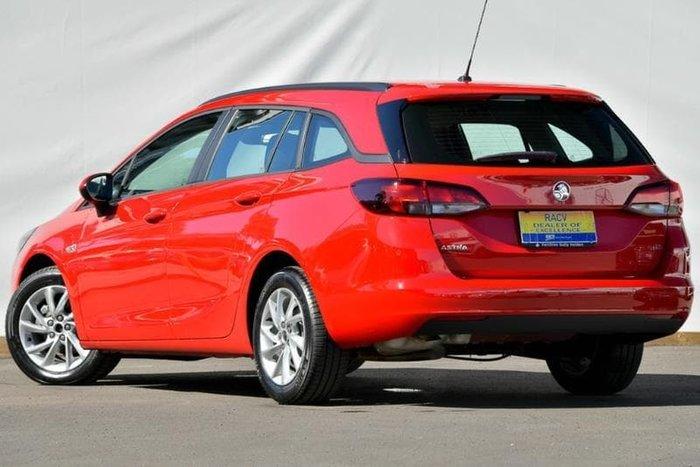2017 Holden Astra LS+ BK MY18 Red