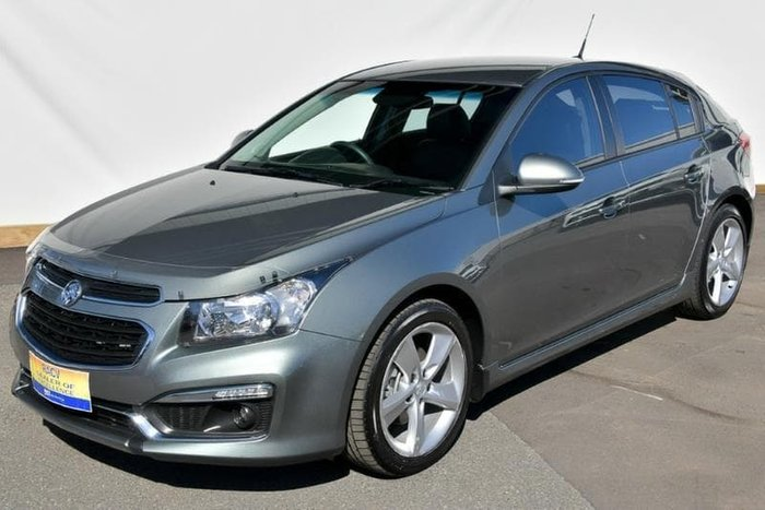 2015 Holden Cruze SRi-V JH Series II MY15 Grey