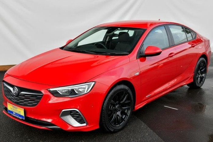 2017 Holden Commodore RS ZB MY18 4X4 On Demand Red