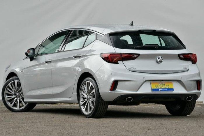 2017 Holden Astra RS-V BK MY17 Silver