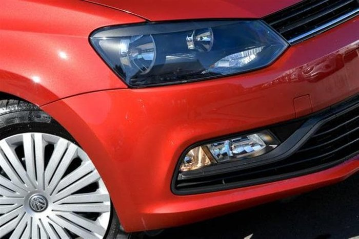 2015 Volkswagen Polo 66TSI Trendline 6R MY15 Red