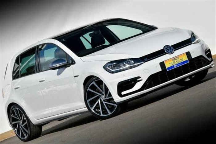 2017 Volkswagen Golf R 7.5 MY18 Four Wheel Drive White