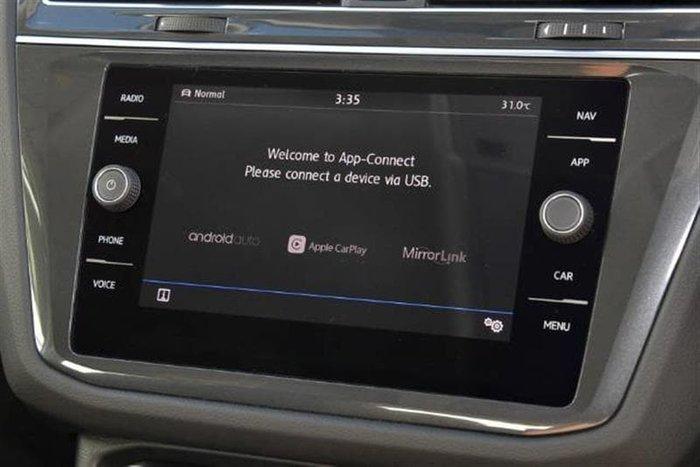 2017 Volkswagen Tiguan 132TSI Comfortline 5N MY18 Four Wheel Drive White